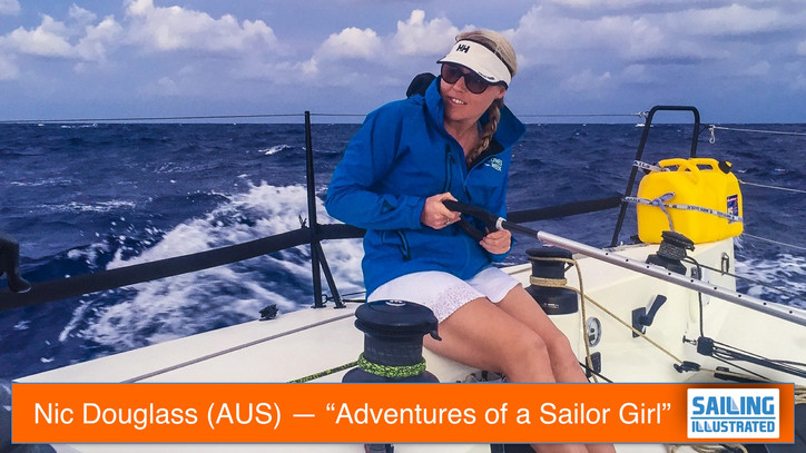 "TFE LIVE: Today's live guest — Nic ""Adventures of a Sailor Girl"" Douglass (AUS), live"