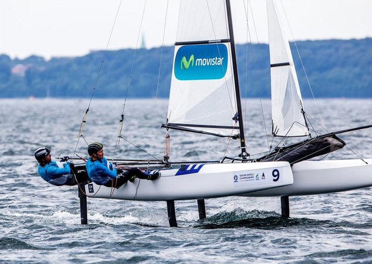 Aarhus: Jury lowers the Rule 69 boom on Iker Martínez (ESP) for illegal alteration of his Nacra 17 d