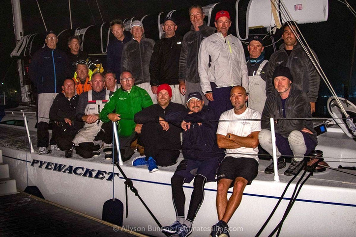 TRANSPAC: OEX crew arrives safely back to the mainland aboard PYEWACKET