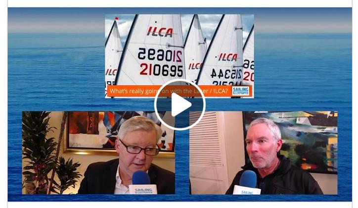 TFE LIVE: John Bertrand (USA) on Olympic classes, sailing & coaching; Aly Di Nas (USA) on the US