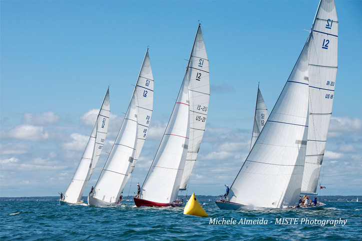 12-Metre Class: Beaut Michele Almeida photos from last weekend's North Americans; 30+ Twelves no