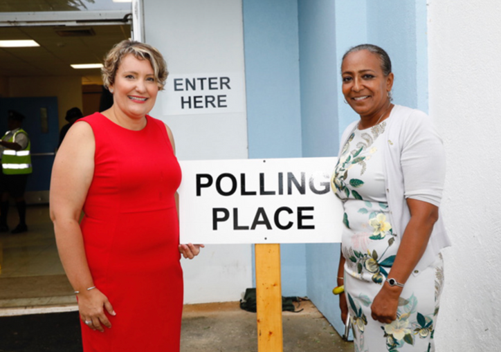 AC35: PLP storms to election victory in Bermuda, defeating the Prime Minister, and his party, that b
