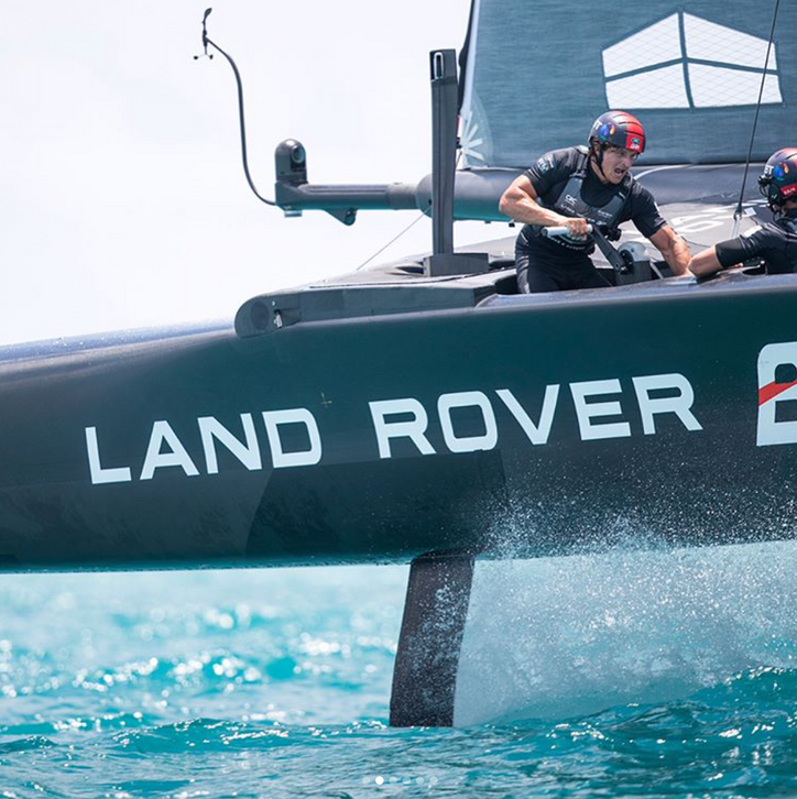 AC35: Not an auspicious day for Sir Ben Ainslie and the Brits