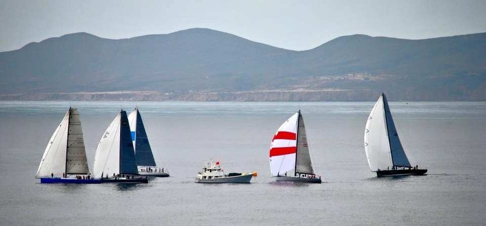 N2E2015 finish in the early morning hours of Saturday, in the typically light morning breeze of Bahia Ensenada.