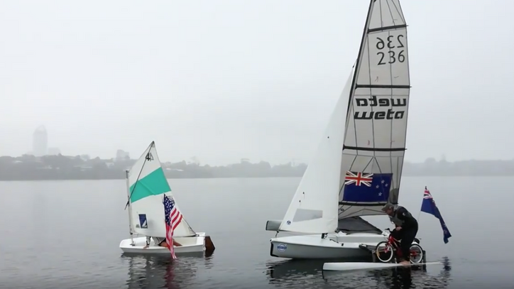 AC35: You gotta love this cheesy video by Yachting NZ