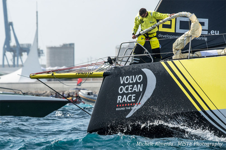 VOR: A gallery of eye-candy from the start of Leg 1 today, courtesy of super-snapper Michele Almeida