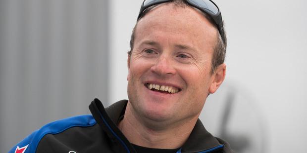 Team New Zealand skipper Glenn Ashby hopes his team will be ready to hit the water in Bermuda next weekend. Photo/Brett Phibbs.