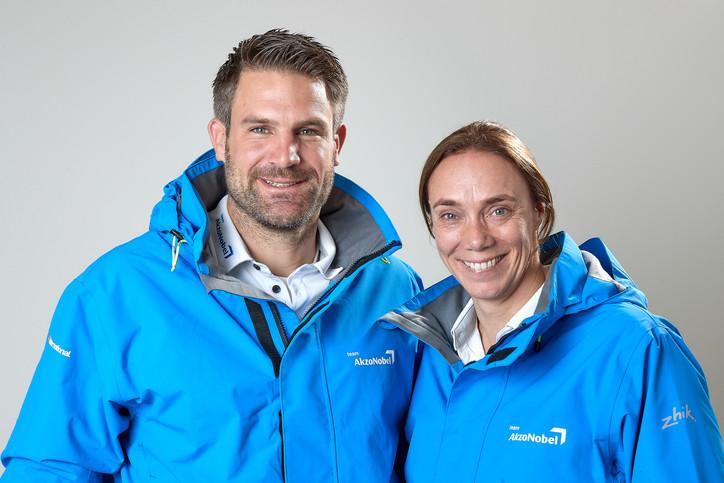 Team AkzoNobel name winning quartet as part of strong multinational squad for Volvo Ocean Race 2017-