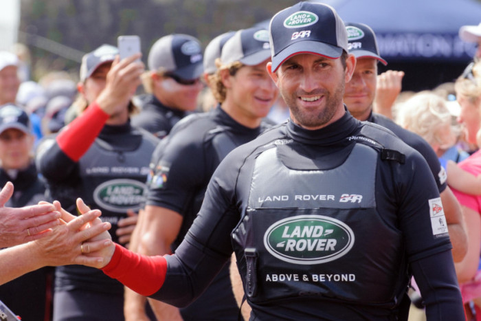 Land Rover BAR: The influence of the AC is spreading widely in GBR; Ben Ainslie in San Diego this we