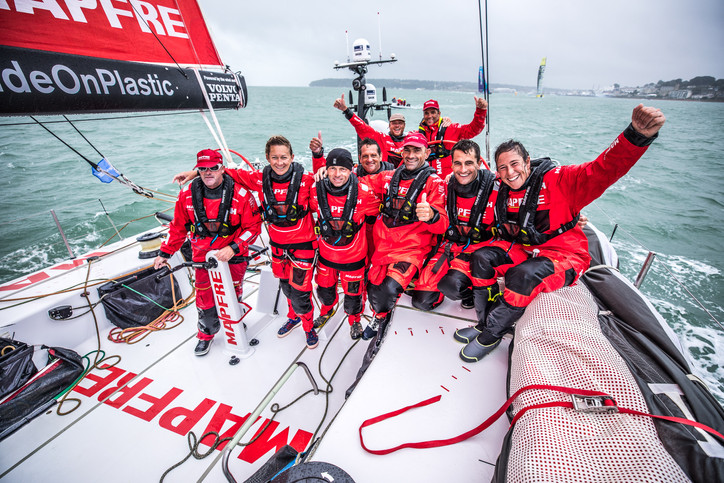 VOR: MAPFRE wins Leg Zero even as Vestas 11th Hour Racing and other teams show round-the-world race