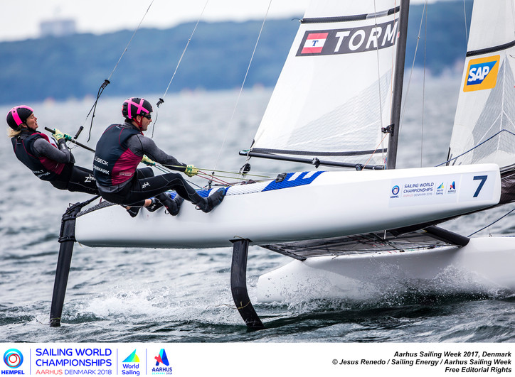 Olympic sailing shocker: All foiling configuration Nacra 17s being recalled by the manufacturer