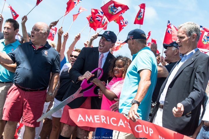 Larry Ellison: If Oracle Team USA wins, the Cup is going back to Bermuda