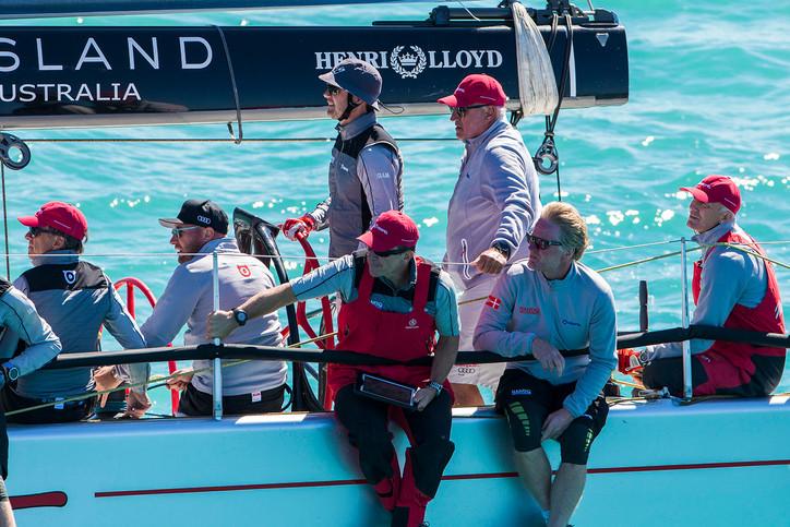 Audi Hamilton Island Race Week: Cracker of an opening day; Crown Prince Frederik (DEN) has a good da