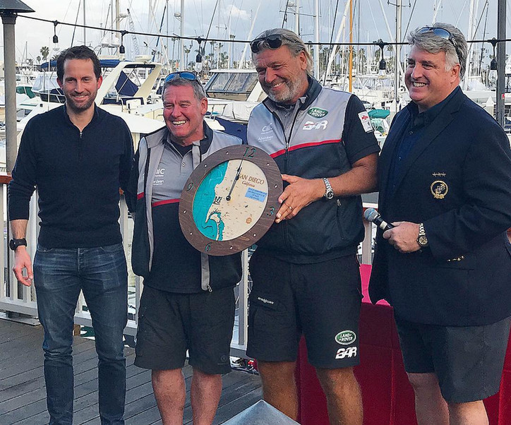 Pac52: Tony Langley's GLADIATOR (GBR), with Ben Ainslie and his core Land Rover BAR 2021 America