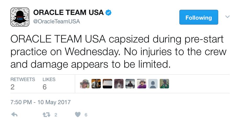 OTUSA tweet from earlier today.
