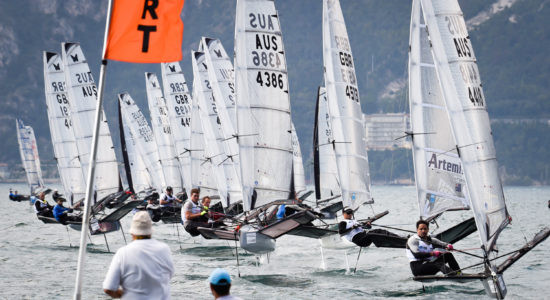 Photo of the Day: Moth Worlds; Paul Goodison (GBR) repeats as world champ