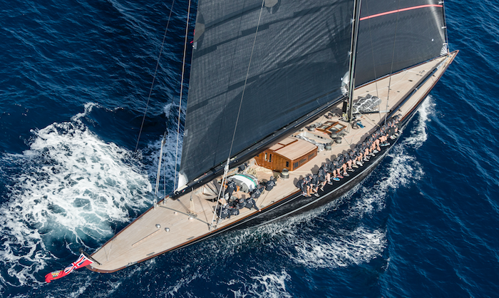 The America's Cup J-Class racing yacht: in a class of its own and making a comeback