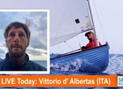 TFE LIVE: Today, Vittorio d'Albertas (ITA), sailmaker and budding YouTube star, live via Skype f