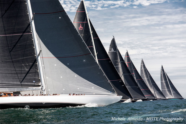 J-Class Worlds: First photos of today's racing, Day 2 (Wed), from super snapper Michele Almeida