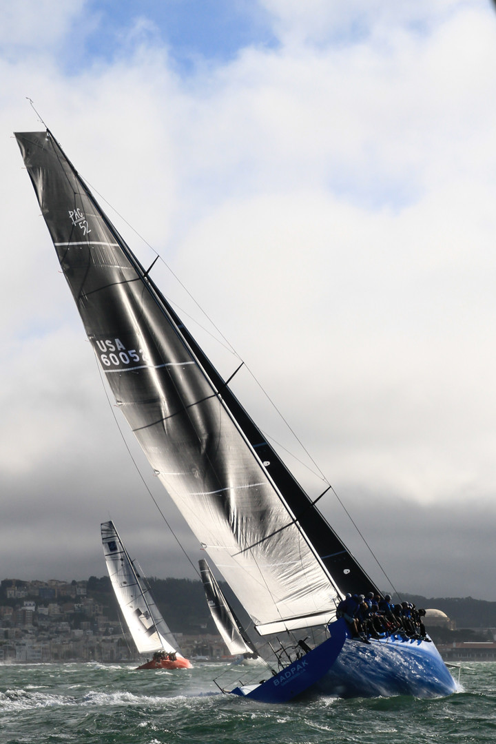 Pac52 Cup: Karl Kwok's BEAU GESTE dominates (again) on Day 1, in glorious conditions on SF Bay F