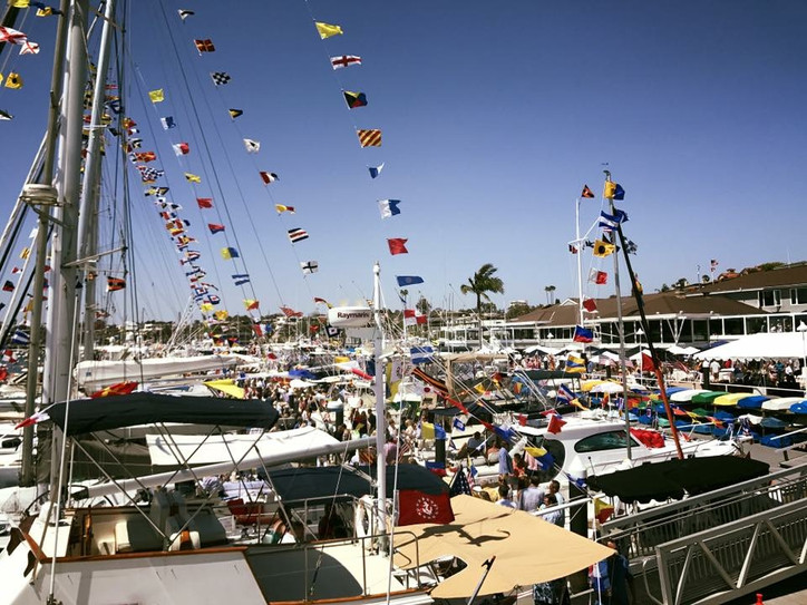 Opening day at Balboa YC