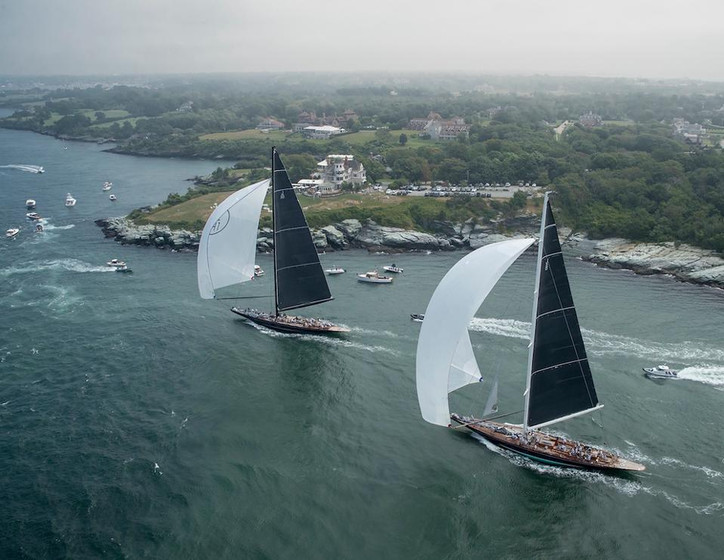 Forbes: Priceless America's Cup yachts put on a show off Newport, RI