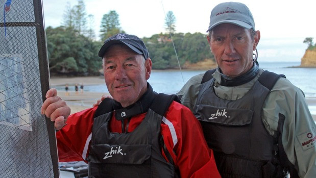 Former America's Cup winner links up with dad for World Masters Games