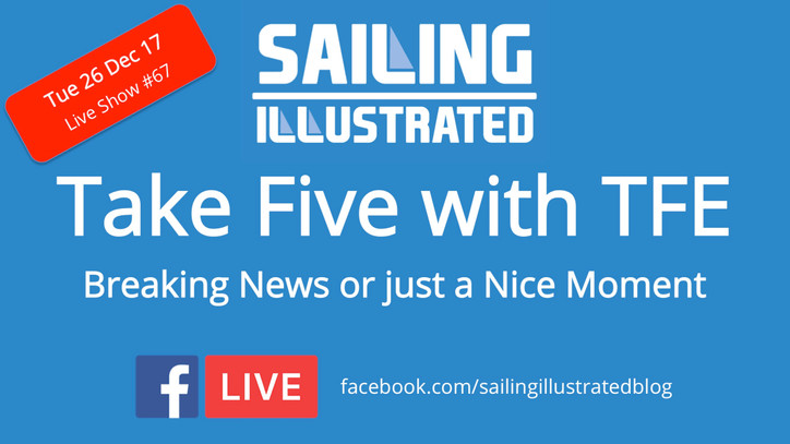 Take Five with TFE: We are going Facebook Live at the top of the hour with coverage of the finish of