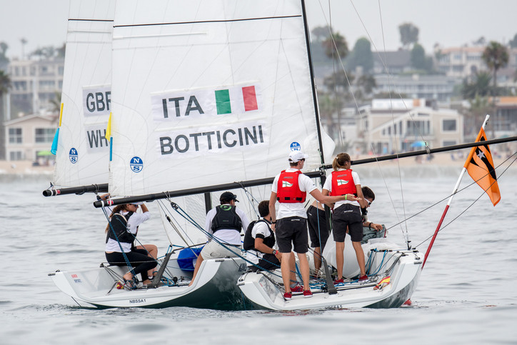 Youth Match Racing Worlds: Price, Anyon remain undefeated after Day 2