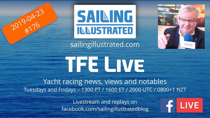 "TFE LIVE:  A ""Bravo Zulu"" for the big ""Siebel Sailors"" announcement, Sail GP com"