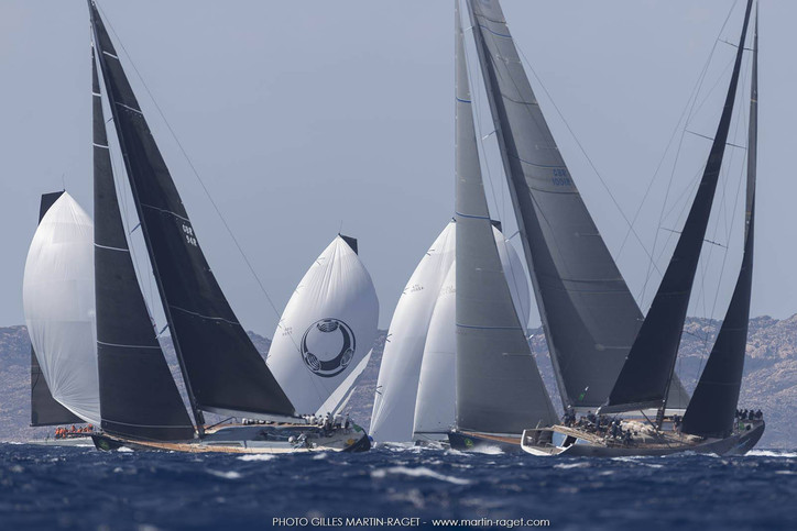 Maxi Yacht Rolex Cup: Beaut photos from Sardinia by Gilles Martin-Raget – no floods, no hurricanes,