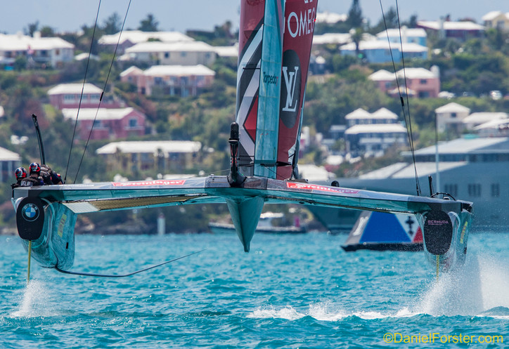 """AC35:  """"Must see"""" photos that help tell the story of Saturday's two Kiwi wins, and mor"""