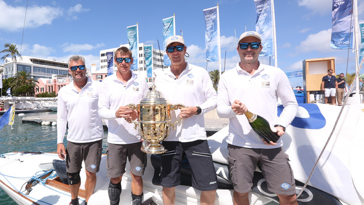 Ian Williams (GBR) wins Argo Group Gold Cup for second time with come-from-behind effort  against Jo