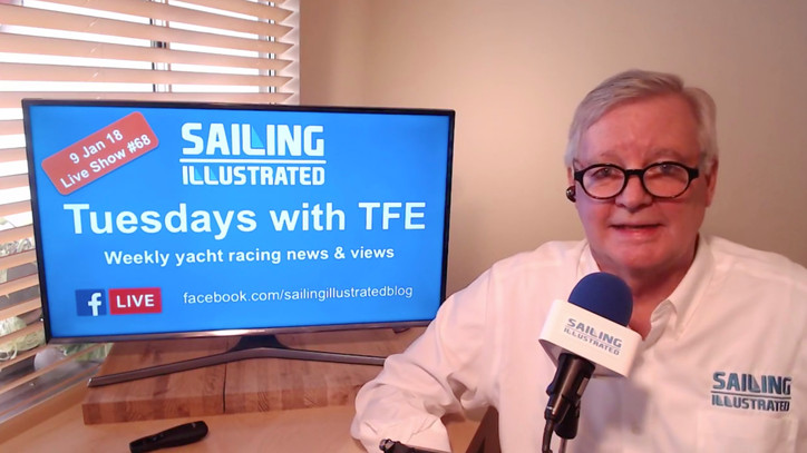 Tuesdays with TFE: Watch a replay of today's weekly Facebook Live show with the latest yacht rac