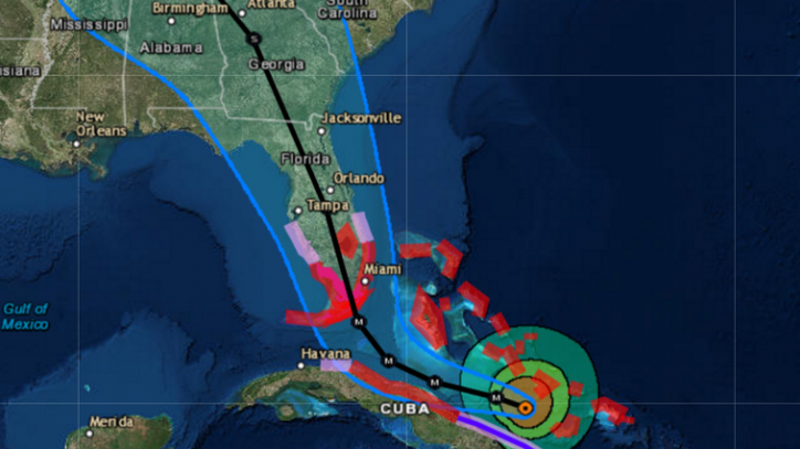 Irma's incursion: Florida bracing for a direct hit from monster storm