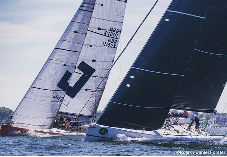 NYYC: Tony and Bernard Langley's GLADIATOR take Day 1 honors at the 163rd Annual Regatta in Newp