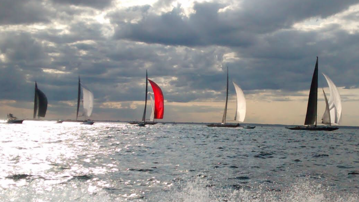 Photo of the Day: J Class Worlds in Newport, R.I. by Ron Holland.
