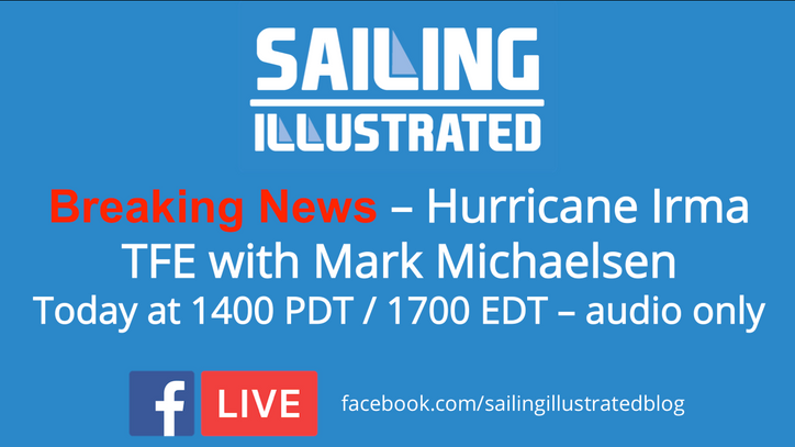Irma incursion: A troubling new forecast; hear the latest with Mark Michaelsen recorded last hour