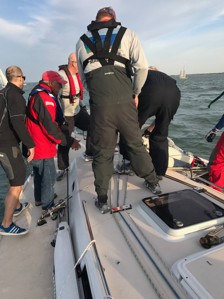 Lake St Clair: Rig Down in the first race of the season