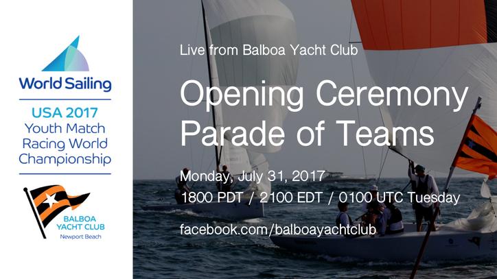 Youth Match Racing World Championship: Underway at Balboa Yacht Club