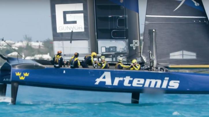 After AC34 tragedy, Artemis couldrebound in Bermuda