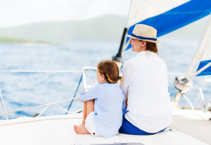 Happy Mother's Day 2017! Even better if you can spend some of today sailing with your Mom.