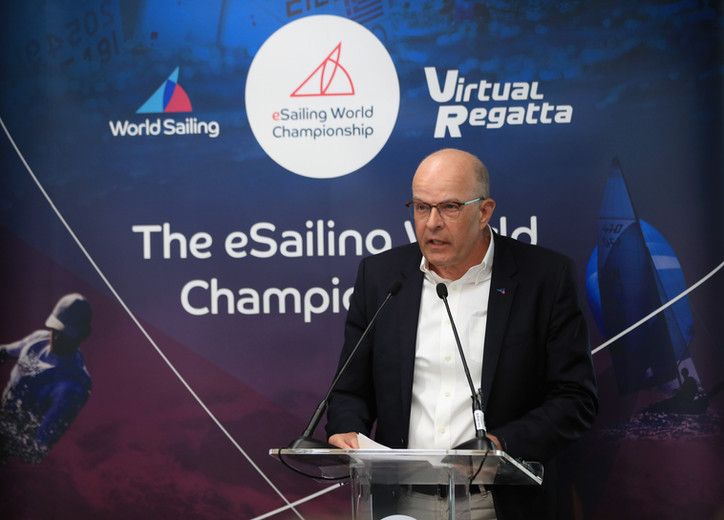 "WORLD SAILING: Another U-turn by ""Chaotic Kim"" Andersen (DEN); the WS President now admits"