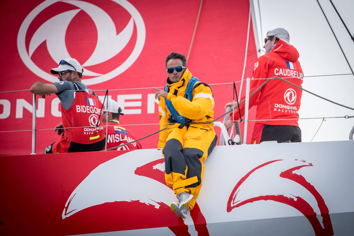 VOR: Crews put in final prep for Leg 4 from Melbourne to new stopover in Hong Kong; Franck Cammas (F