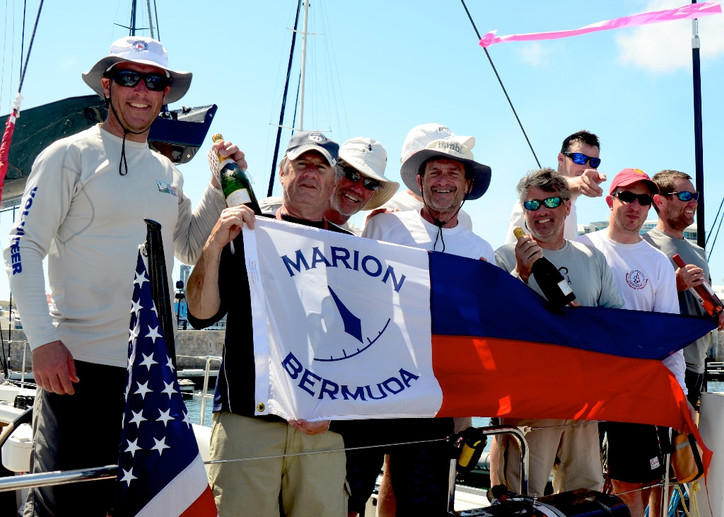 Marion-Bermuda: Congrats to John Levinson and his team on JAMBI, the new Hinckley Bermuda 50 that to