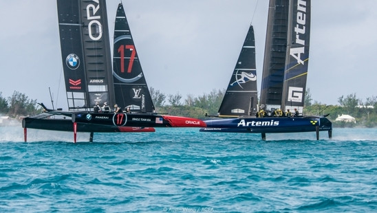 America's Cup: Artemis emerge as key rival for Emirates Team New Zealand