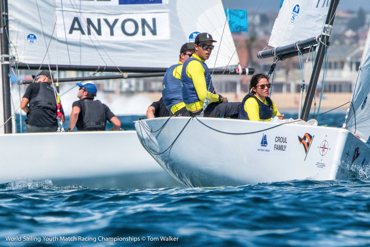 Youth Match Racing Worlds: Aussie skipper Price unbeaten; alone atop the leaderboard