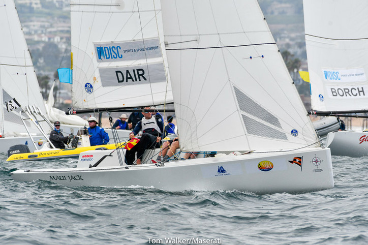 GOVCUP: Takahashi (NZL) now alone on top, as Dair (USA) moves up to second; Tapper (AUS), Parkin (US