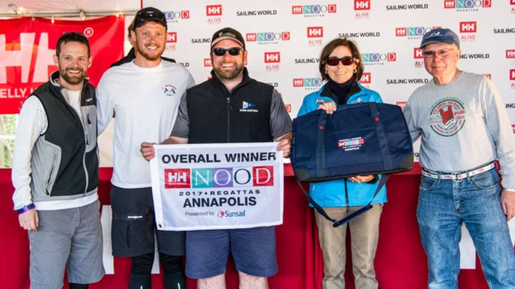 Helly Hansen NOOD Annapolis: Conor Hayes and his Lake Winnipesaukee J/80 team win overall