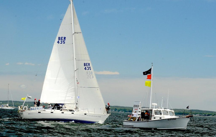 40th Marion-Bermuda: 50 yachts are hard on the wind racing to BDA
